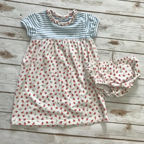 dbbddfa0e20a Boden Dresses   Baby Girls Strawberry Dress And Diaper Cover   Poshmark